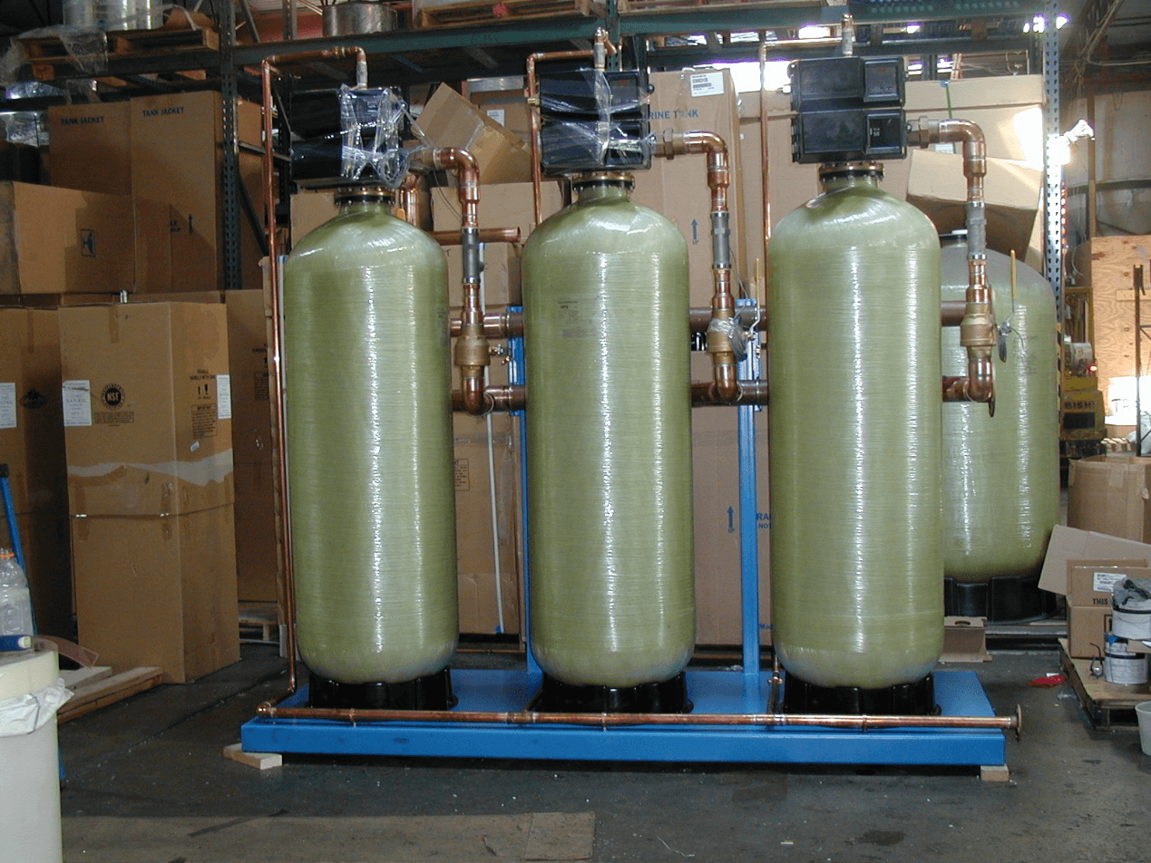 custom water softeners