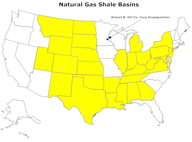 Natural Gas Shale Basin