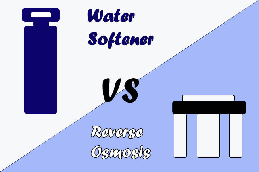 reverse osmosis or water softener