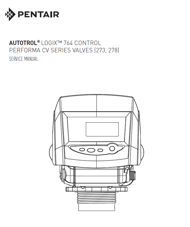Autotrol 273 278 service manual