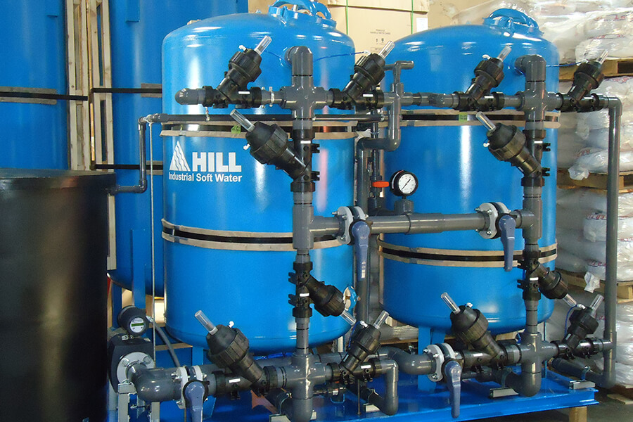 plant water softener