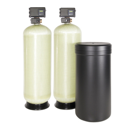 Dual Parallel - Fiberglass - HICAP Series - Commercial Water Softener by Robert B. Hill Co.
