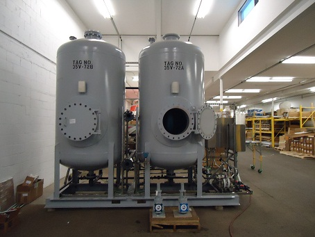 Robert B. Hill designed and manufactured steel pressure vessels